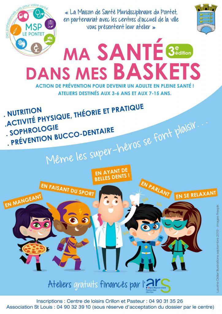 Maison de Santé Pluridisciplinaire Le Pontet, atelier ma Santé dans mes Baskets