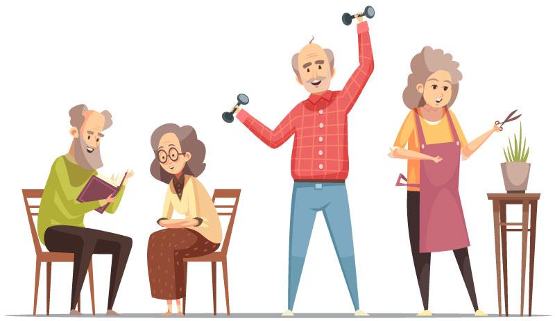MSP, personnes âgées, confinette